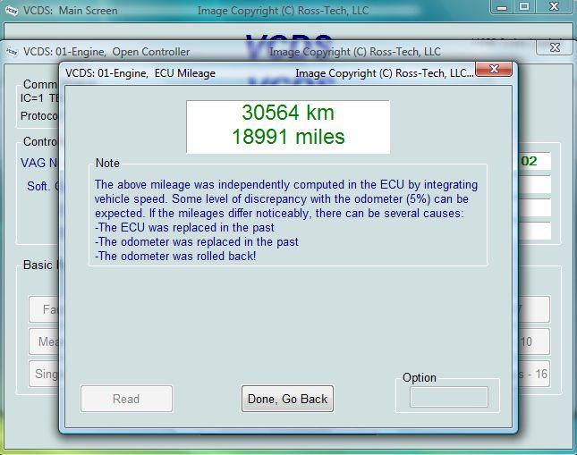 Verifier Les Kilometres Du Compteur Tdi 183 Tuto Vag Com